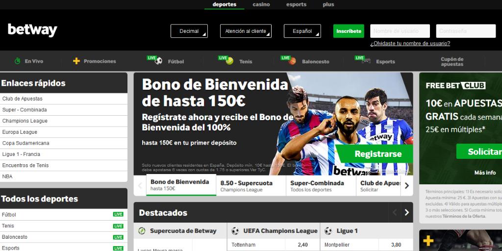 Betway la mejor casa de apuestas deportivas online en México