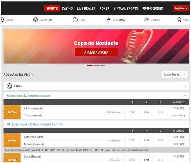 Bodog ofrece póquer, deportes, casino en vivo y otros juegos fantásticos para apostar y jugar.