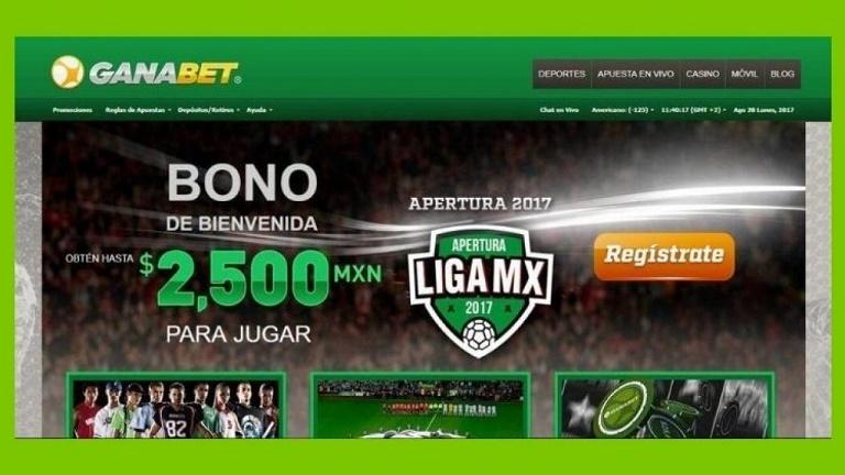 Ganabet apuestas deportivas México