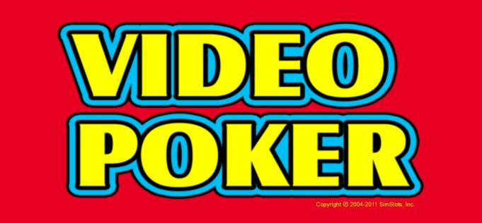 juegos de video poker casino