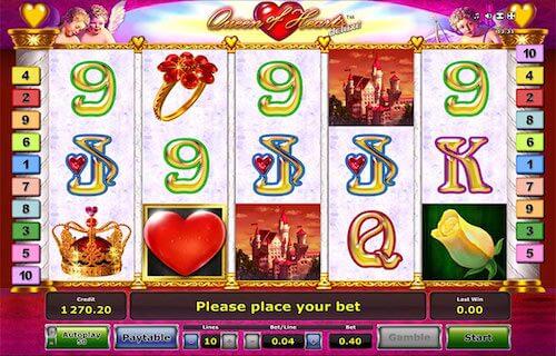 juego de casino queen of hearts